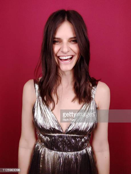 Lindsey Kraft attends the 21st Costume Designers Guild Awards x Getty Images Portrait Studio presented by LG V40 ThinQ on February 19 2019 in Beverly...
