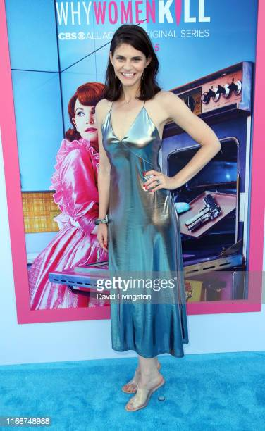 Lindsey Kraft attends the LA Premiere of CBS All Access' Why Women Kill at Wallis Annenberg Center for the Performing Arts on August 07 2019 in...