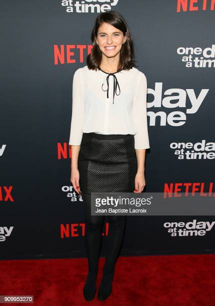 Lindsey Kraft attends the premiere of Netflix's 'One Day At A Time' Season 2 on January 24 2018 in Hollywood California