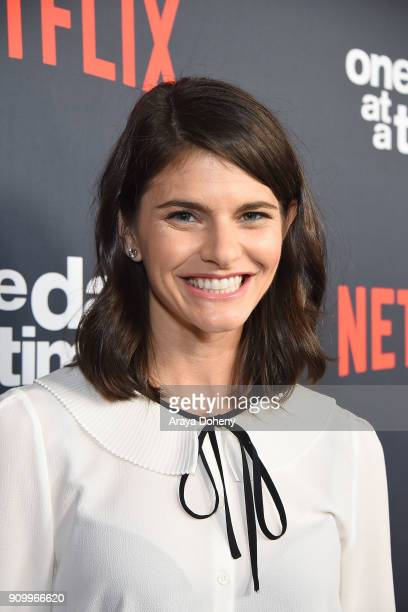 Lindsey Kraft attends the premiere of Netflix's 'One Day At A Time' season 2 at ArcLight Hollywood on January 24 2018 in Hollywood California