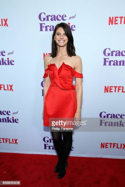 Lindsey Kraft attends the screening for Netflix's Grace and Frankie Season 3 at ArcLight Hollywood on March 22 2017 in Hollywood California