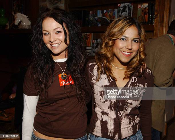Lindsey Labrum and Maurise Maclou during 2005 Park City 501 Happy Hour at Levi's Ranch in Park City Utah United States