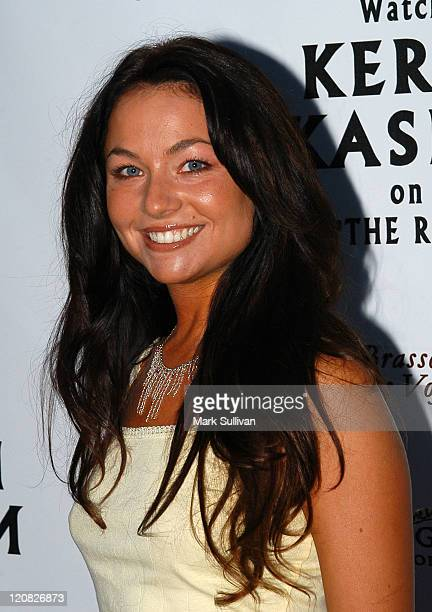 Lindsey Labrum during Kerri Kasem Birthday Party at Brasserie Les Voyous in Hollywood California United States