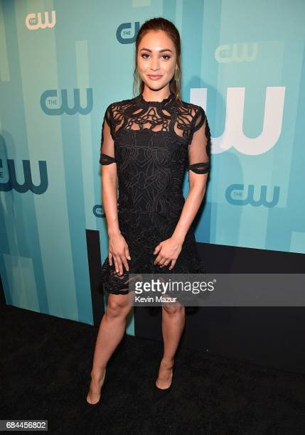 Lindsey Morgan attends The CW Network's 2017 Upfront at The London Hotel on May 18 2017 in New York City