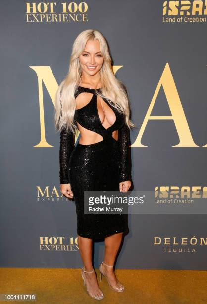 Lindsey Pelas attends The 2018 Maxim Hot 100 Party at Hollywood Palladium on July 21, 2018 in Los Angeles, California.