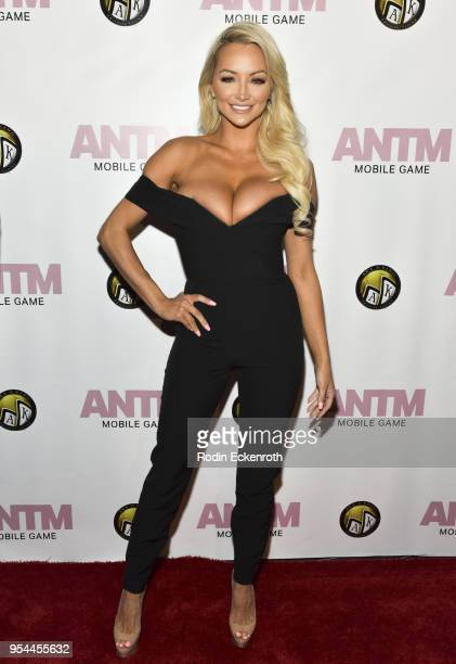 Lindsey Pelas attends the America's Next Top Model mobile game release at Avalon on May 3 2018 in Hollywood California