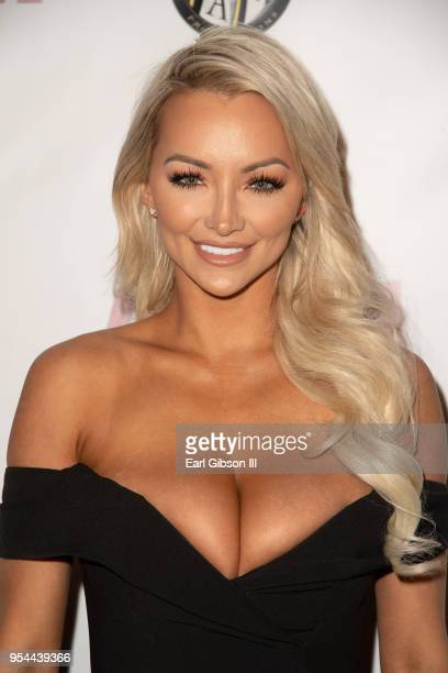 Lindsey Pelas attends the Tyra Banks And Ace King Productions Celebrate The Release Of The America's Next Top Model Mobile Game at Avalon on May 3...