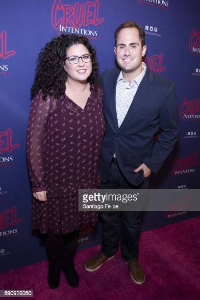 Lindsey Rosin and Jordan Ross attend 'Cruel Intentions' The 90's Musical Experience at Le Poisson Rouge on December 11 2017 in New York City