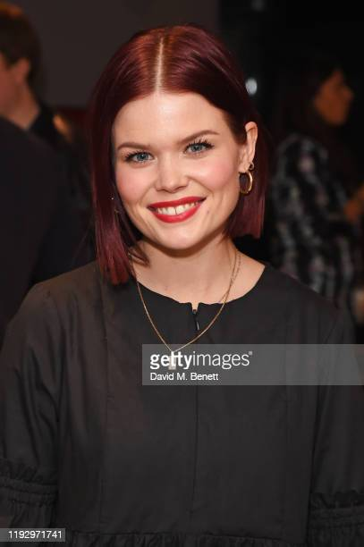 Lindsey Russell attends the press night after party for Shackleton And His Stowaway at The Park Theatre on January 10 2020 in London England
