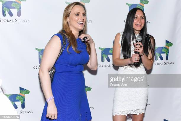 Lindsey Spielfogal and Elizabeth Shafiroff attend Elizabeth Shafiroff and Lindsey Spielfogal Host the First Annual Global Strays Fund Raising Party...