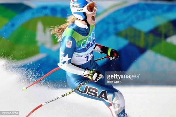 Lindsey Vonn Super G Jeux Olympiques de Vancouver