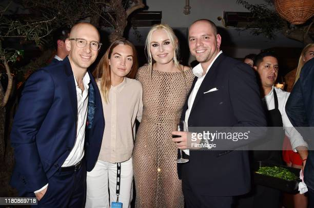 Lindsey Vonn and guests attend the After Party for the premiere of HBO's Lindsey Vonn The Final Season at Soho House on November 07 2019 in West...