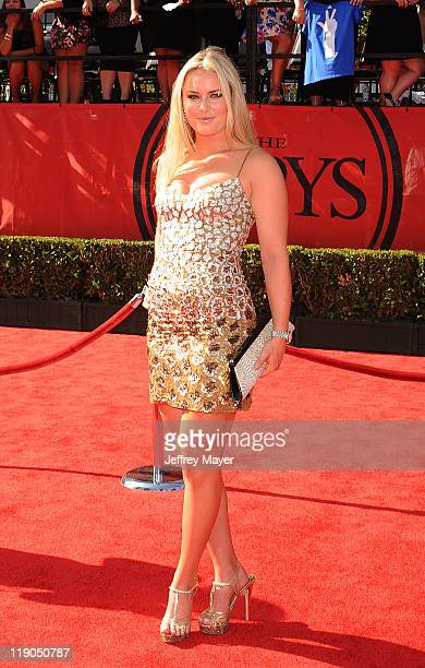 Lindsey Vonn arrives at the 2011 ESPY Awards at Nokia Theatre L.A. Live on July 13, 2011 in Los Angeles, California.