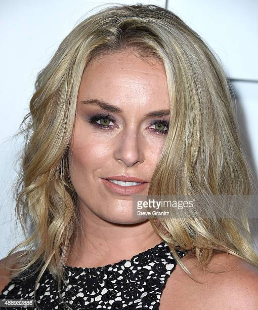 Lindsey Vonn arrives at the Audi Celebrates Emmys Week 2015 at Cecconi's on September 17 2015 in West Hollywood California