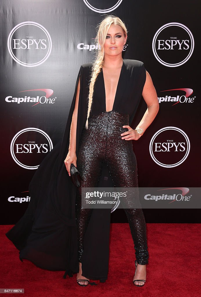 Lindsey Vonn attends The 2016 ESPYS at Microsoft Theater on July 13, 2016 in Los Angeles, California.