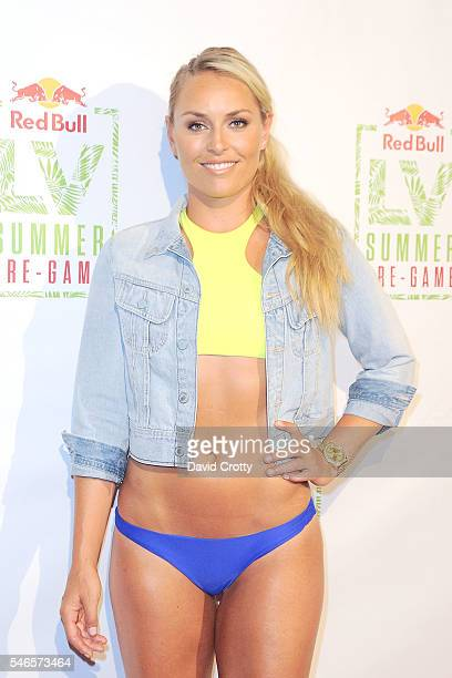 Lindsey Vonn attends the Lindsey Vonn Summer PreGame on July 12 2016 in Los Angeles California