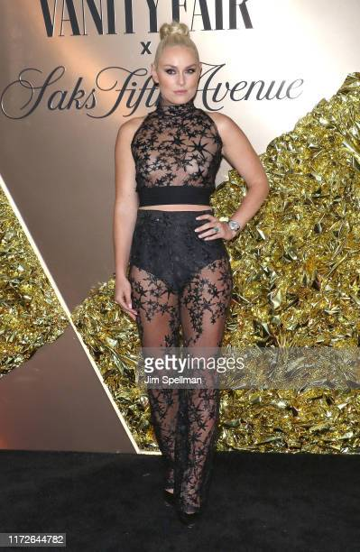 Lindsey Vonn attends the Vanity Fair's 2019 Best Dressed List at L'Avenue on September 05 2019 in New York City