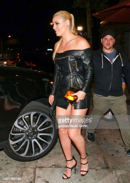 Lindsey Vonn is seen on July 18 2018 in Los Angeles California