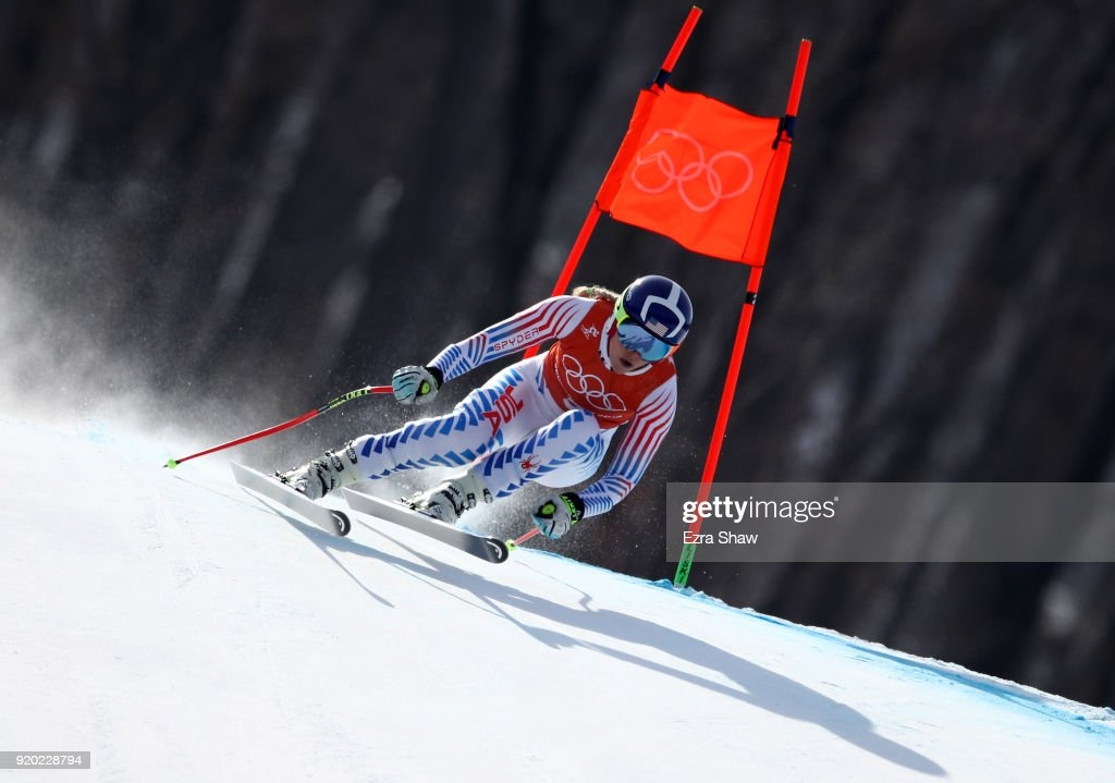 Alpine Skiing Training - Winter Olympics Day 10