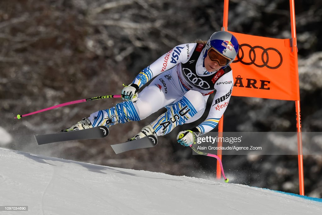 SWE: FIS World Ski Championships - Women's Downhill