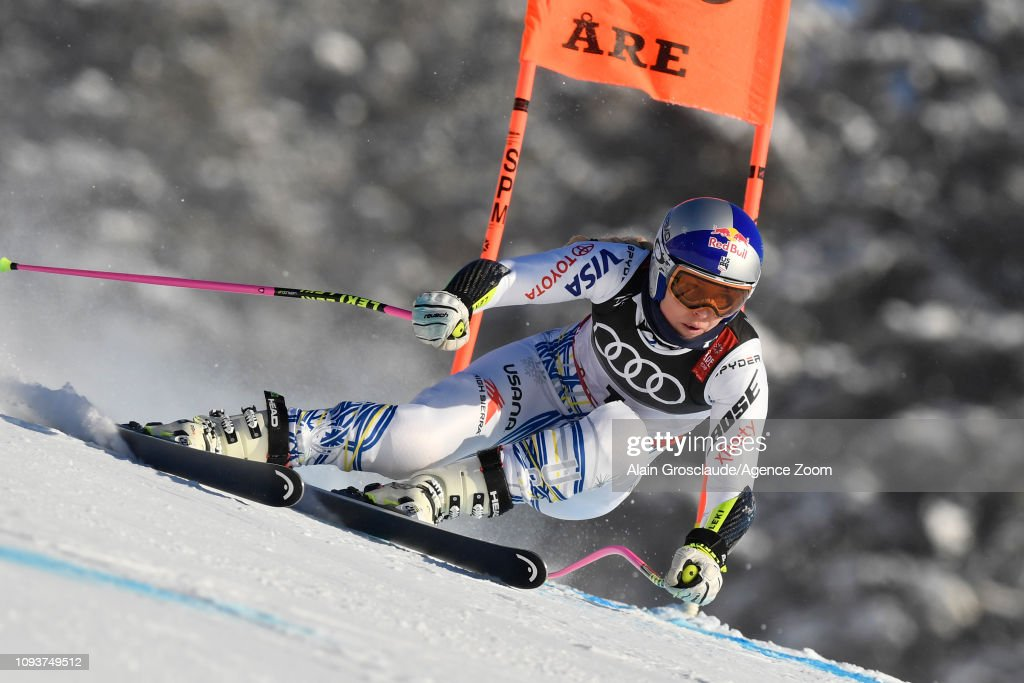 SWE: FIS World Ski Championships - Women's Downhill Training