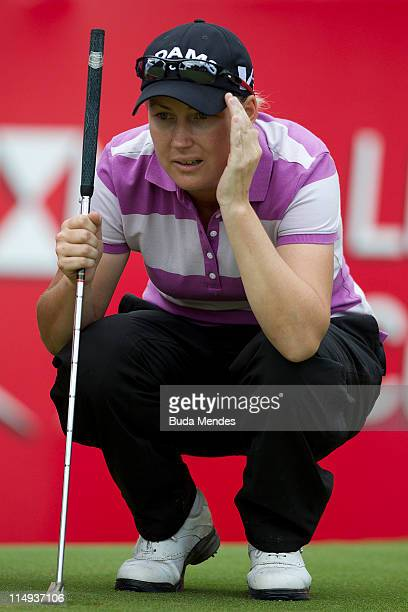 Lindsey Wright of Australia during the second round of the HSBC LPGA Brazil Cup at the Itanhanga Golf Club on May 29, 2011 in Rio de Janeiro, Brazil.