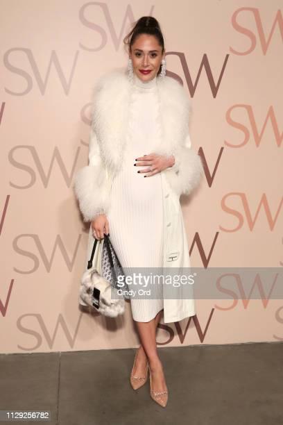 Lindsi Lane Watts attends Stuart Weitzman Spring Celebration 2019 on February 12 2019 in New York City