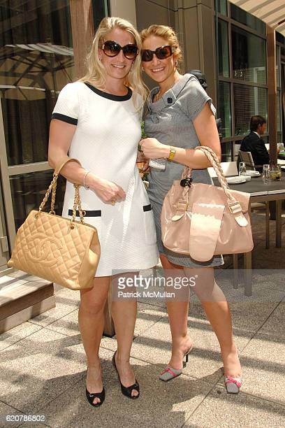 Lindsi Shine and Elizabeth Rosenthal attend DAVID YURMAN Luncheon in Celebration of the Andre Agassi Foundation at CORE 66 East 55th St on July 29...