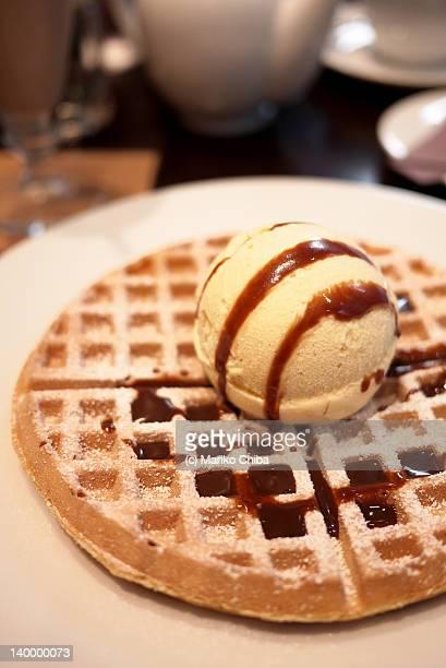 Lindt waffles