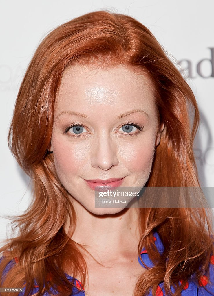 Lindy Booth attends the 2013 Canada Day in LA party at Wokano restaurant on June 30, 2013 in Santa Monica, California.