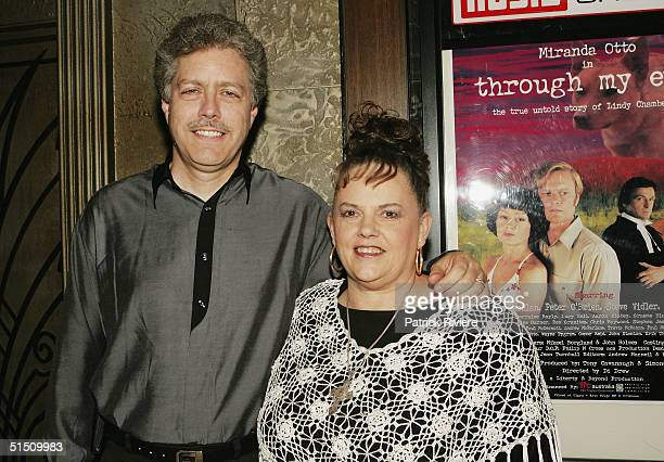 """Lindy Chamberlain and husband Rick Creighton attend the media launch of Channel 7's upcoming mini-series """"Through My Eyes"""" at Fox Studios on October..."""