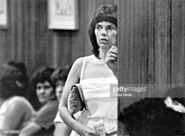 Lindy Chamberlain attends the Coroner's Court during the second inquest into the disappearance of her baby daughter, Azaria Chamberlain, at Ayers...