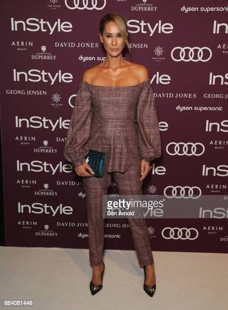 Lindy Klim arrives ahead of the Women of Style Awards at The Star on May 17 2017 in Sydney Australia