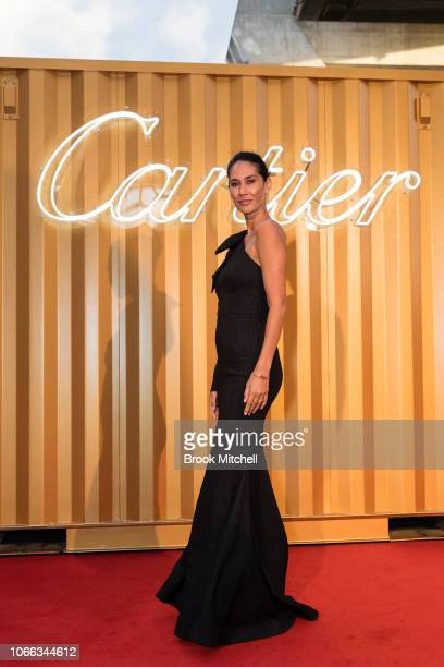 Lindy Klim attends the Cartier Precious Garage Party on November 29 2018 in Sydney Australia