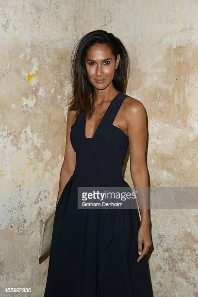 Lindy Klim attends the Tiffany T collection launch on September 23 2014 in Sydney Australia