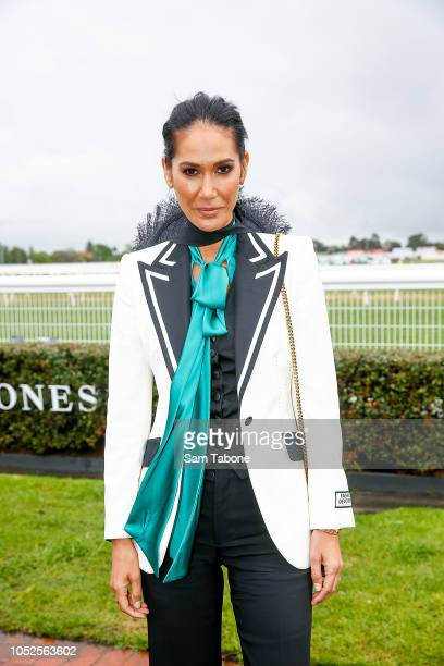 Lindy RamaEllis attends 2018 Caulfield Cup Day at Caulfield Racecourse on October 20 2018 in Melbourne Australia