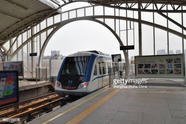 Line 1 Metro Dowudadao,Wuhan China