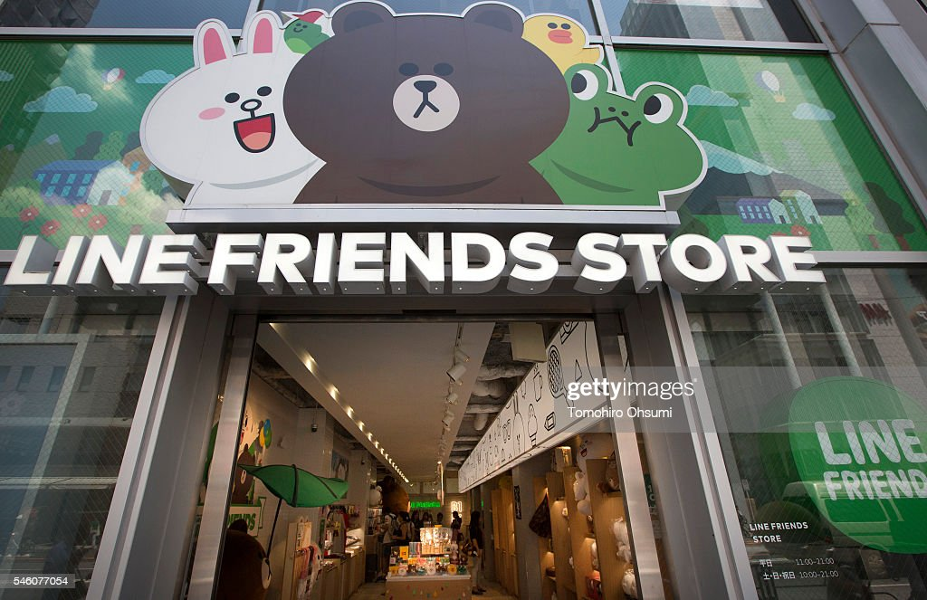 Line Corp.'s LINE Friends Harajuku store stands on July 11, 2016 in Tokyo, Japan. Japanese messaging app provider LINE Corp., owned by South Korean portal Naver Corp., announced it has set the price of its initial public offering at 35 million shares at 3,300 yen apiece on Monday. The company expects to list on the New York Stock Exchange on July 14 and also on the Tokyo Stock Exchange on July 15.