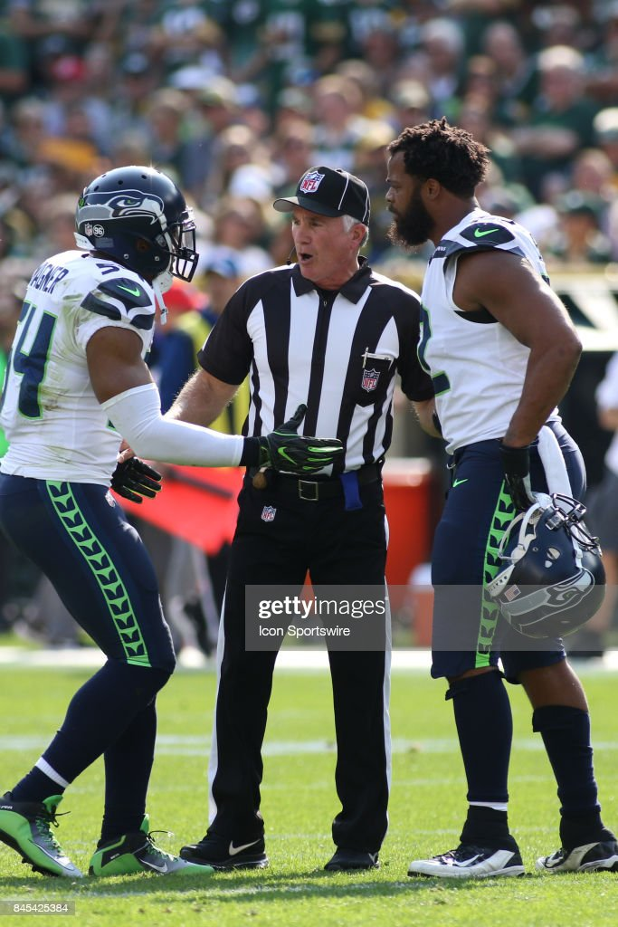NFL: SEP 10 Seahawks at Packers : News Photo