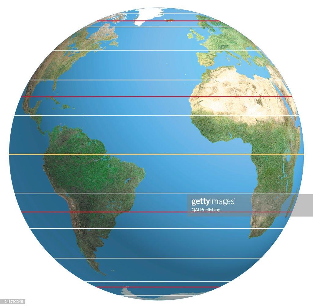 Line of latitude : News Photo