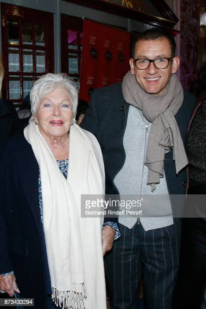 Line Renaud and Dany Boon attend Depardieu Chante Barbara at Le Cirque D'Hiver on November 12 2017 in Paris France