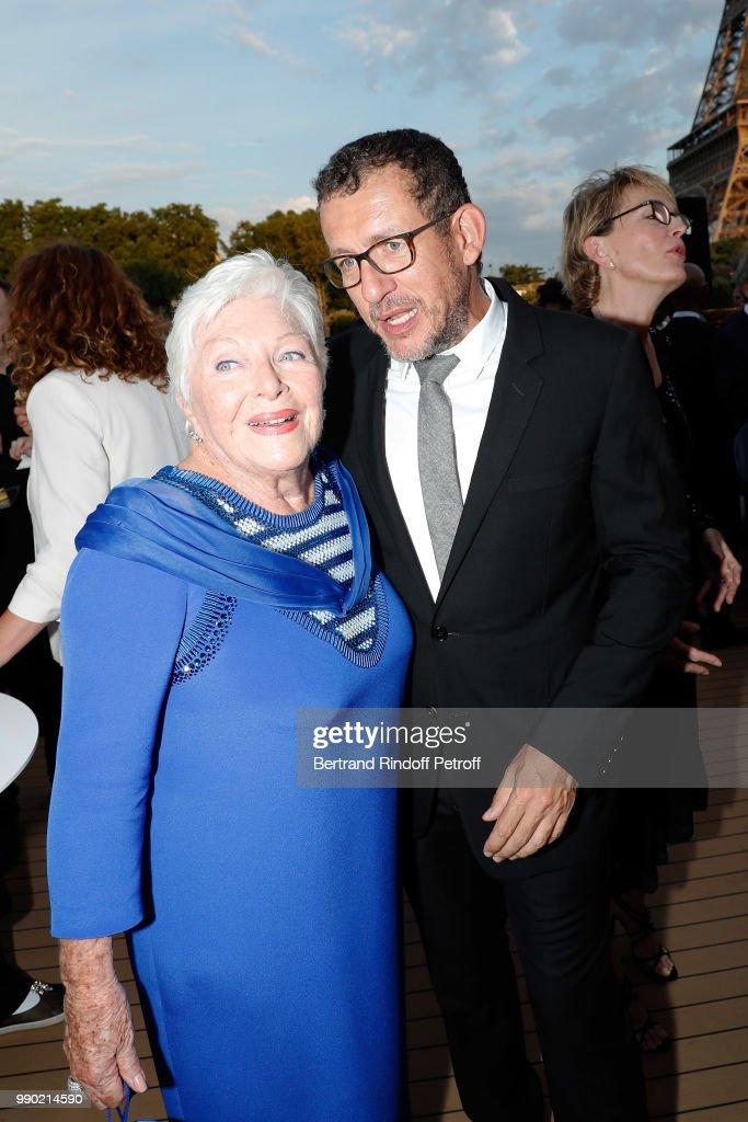 Line Renaud Celebrates Her 90th Anniversary In Paris : News Photo
