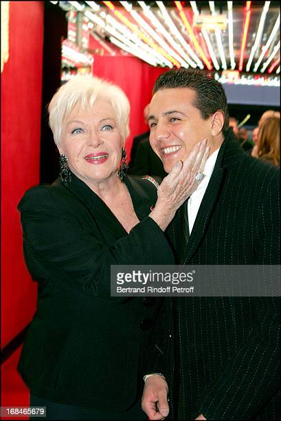 Line Renaud and Faudel at Dalida TV Film Tribute To The Singer