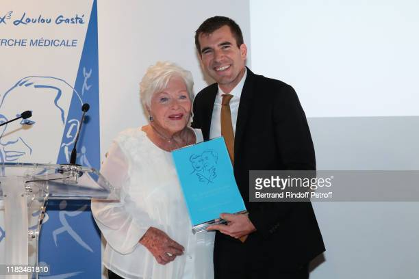 Line Renaud and Line Renaud Loulou Gaste Endowment Fund Award Guillaume Canaud attend the first Line Renaud Loulou Gaste Award for Medical Research...