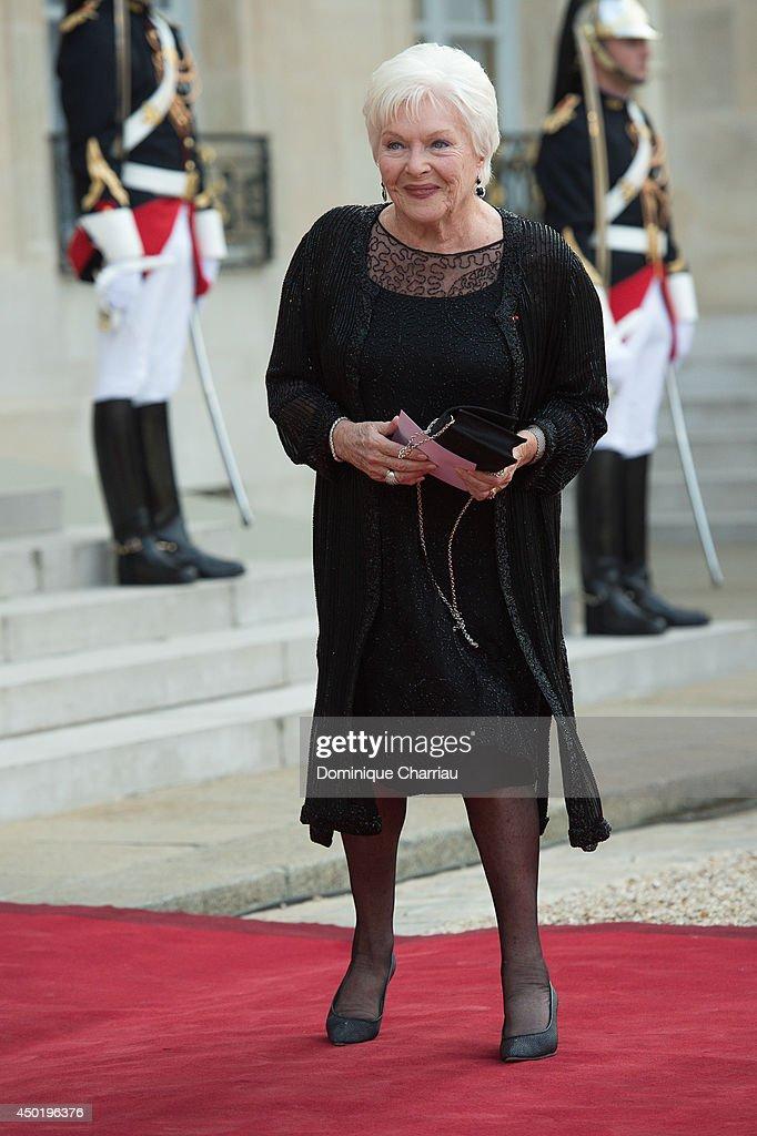 Queen Elizabeth II On Official Visit In Paris : Day 2