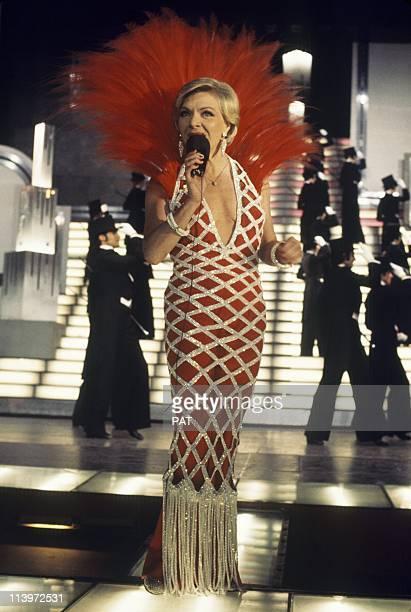 Line Renaud at Casino de Paris In Paris France On April 15 1974French singer Line Renaud at Casino de Paris on April 15 1974