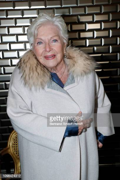 Line Renaud attends the JeanPaul Gaultier Haute Couture Spring Summer 2019 show as part of Paris Fashion Week on January 23 2019 in Paris France