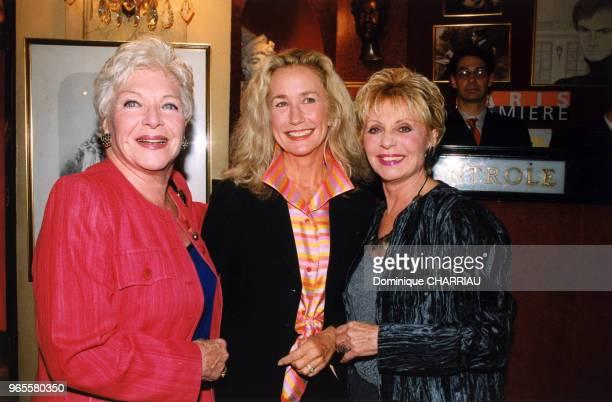 Line Renaud Brigitte Fossey et Annie Cordy le 13 septembre 1999 à Paris France