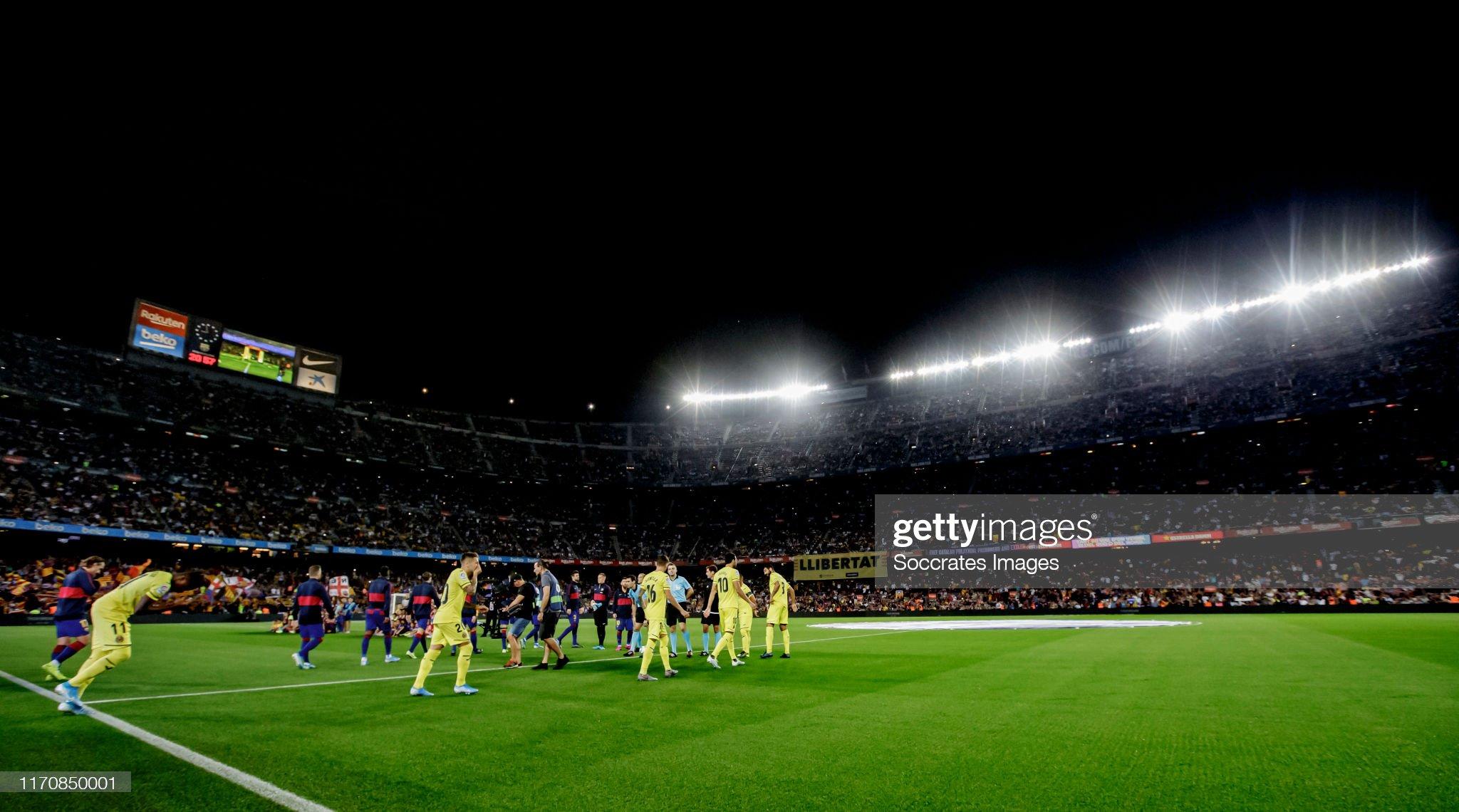 صور مباراة : برشلونة - فياريال 2-1 ( 24-09-2019 )  Line-up-of-fc-barcelona-and-villarreal-during-the-la-liga-santander-picture-id1170850001?s=2048x2048