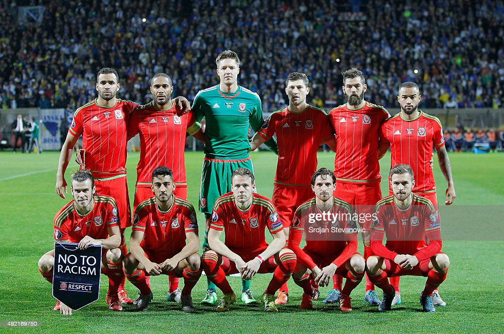 Bosnia and Herzegovina v Wales - UEFA EURO 2016 Qualifier : News Photo